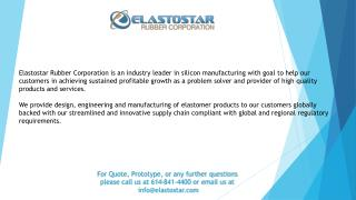 Extruded Silicone Rubber for Different Industries