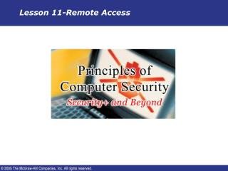 Lesson 11-Remote Access
