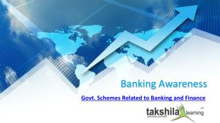 Govt. Schemes Related to Banking and Finance