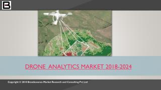 Drone Analytics Seeing XX% CAGR Growth to 2024