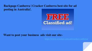 - Backpage Canberra | Cracker Canberra | backpageescorts