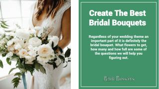 Find Gorgeous Bridal Bouquets from Whole Blossoms at the Wholesale Prices