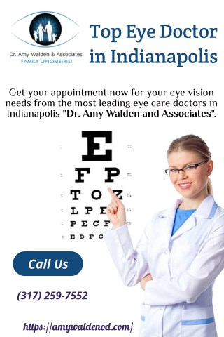 Top Eye Doctor in Indianapolis