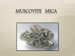 Buy Quality Muscovite Mica and Mica Sheets | Axim Mica