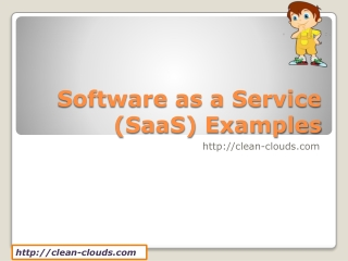 6. Software as a Service Examples