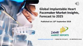 Global Implantable Heart Pacemaker Market Insights, Forecast to 2025