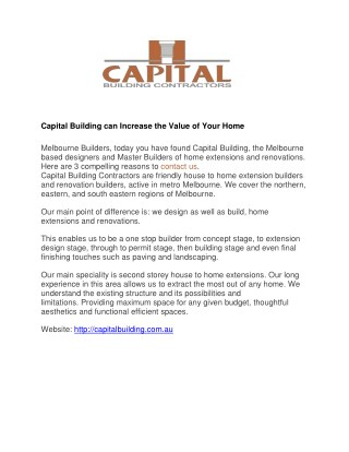 Home Renovation Builders Melbourne
