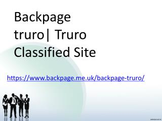 Backpage truro  Truro Classified Site