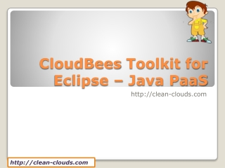 12.CloudBees Toolkit for Eclipse