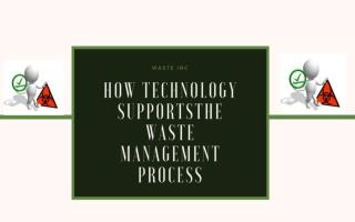 How Technology SupportsThe Waste Management Process