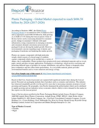 Plastic Packaging - Global Market Outlook (2017-2026)