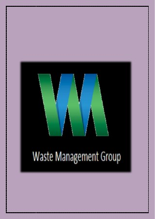 Business Waste Removal - Waste Management Group