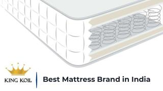 How to Buy Online Best Mattress in India | King Koil