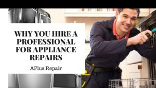 Get The Best Appliances Repair Services At An Affordable Price