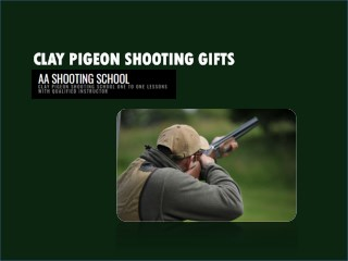 Clay Pigeon Shooting Gifts for Everyone