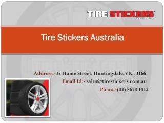 Tyre Sidewall Styling