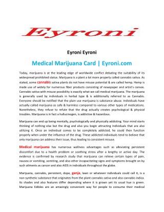 GANJA DEALS | Eyroni.com