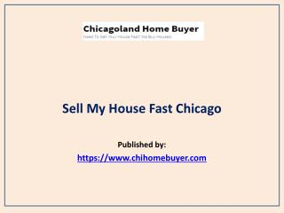 Sell My House Fast Chicago