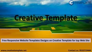 Free Design templates – Creative Template
