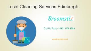 Local Cleaning Services Edinburgh