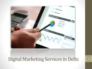 Why opt for digital marketing services in Delhi?