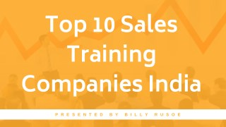 Top 10 Sales Training Companies India, Ahmedabad, Mumbai, Pune, Delhi, Bangalore
