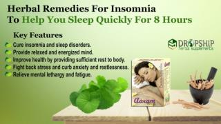 Herbal Remedies for Insomnia to Help You Sleep Quickly for 8 Hours