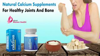 Natural Calcium Supplements for Healthy Joints and Bone