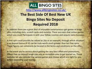 Ppt The Best Side Of Best New Uk Bingo Sites No Deposit Required