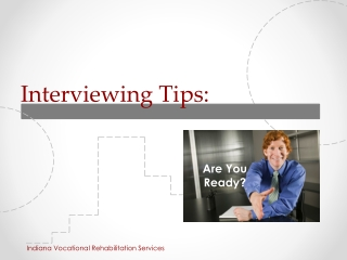 Tips for Successful Job Interviewing