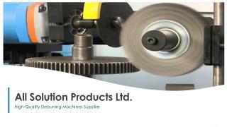 deburring aluminium parts | deburring machine sheet metal