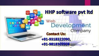 What is the role of Web Development Company in Delhi and Noida in today's life  91-9318322090?