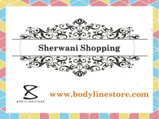 Sherwani Shopping