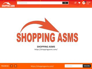 Shopping asms - Online shopping mall