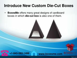 Introduce New Custom Die-Cut Boxes