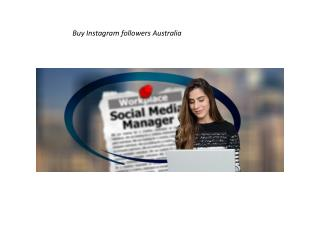 Buy Instagram Followers Australia, Get free Likes on Instagram from $1.99