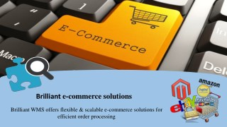Brilliantwms provides eCommerce integration software.