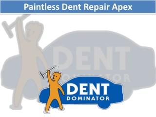 Paintless Dent Repair Apex NC