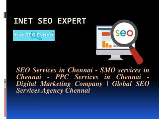 iNet SEO Expert: Digital Marketing Company | Global SEO Services Agency Chennai