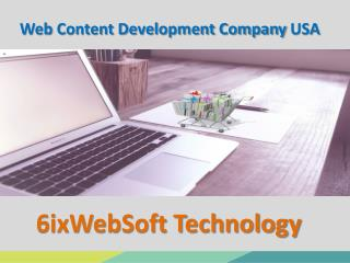 Web Content Development Company USA