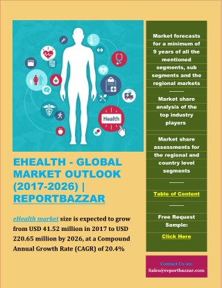 eHEALTH - GLOBAL MARKET OUTLOOK (2017-2026)