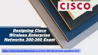 Get 100 % Success Ensured Cisco 300-360 Questions Demo