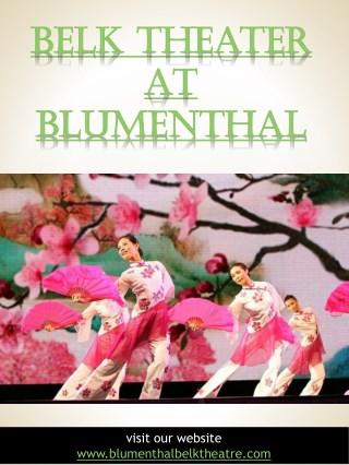 Belk Theater at Blumenthal