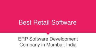 Best Retail Software, ERP Software Development Company in Mumbai India