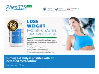 Phen375 Diet Pill Offical Site Preview