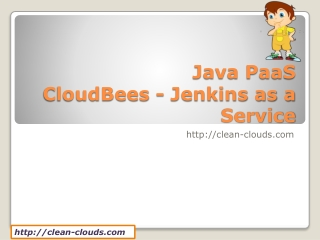 13.CloudBees - Jenkins as a Service
