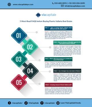 5 Must-Read FAQS before Buying Puerto Vallarta Real Estate