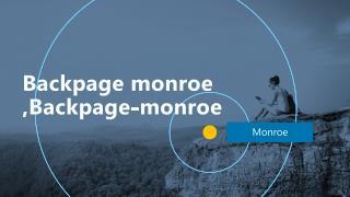 Backpage Monroe ,backpage-monroe