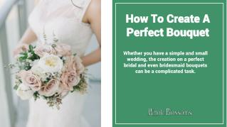 Find the Perfect Bridal Bouquets at the Wholesale Prices