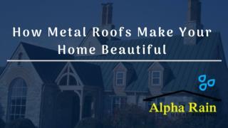 Low Maintenance   Metal Roofing Virginia